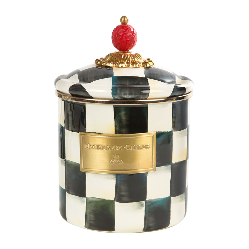courtly-check-enamel-canister-small-760603