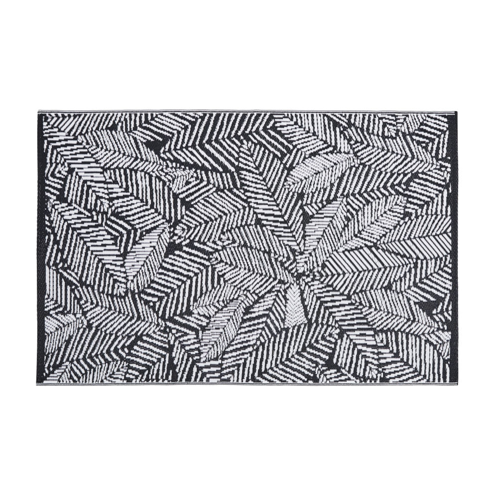 120x180cm-polypropylene-outdoor-rug-with-black-and-white-graphic-leaf-print_28224540579