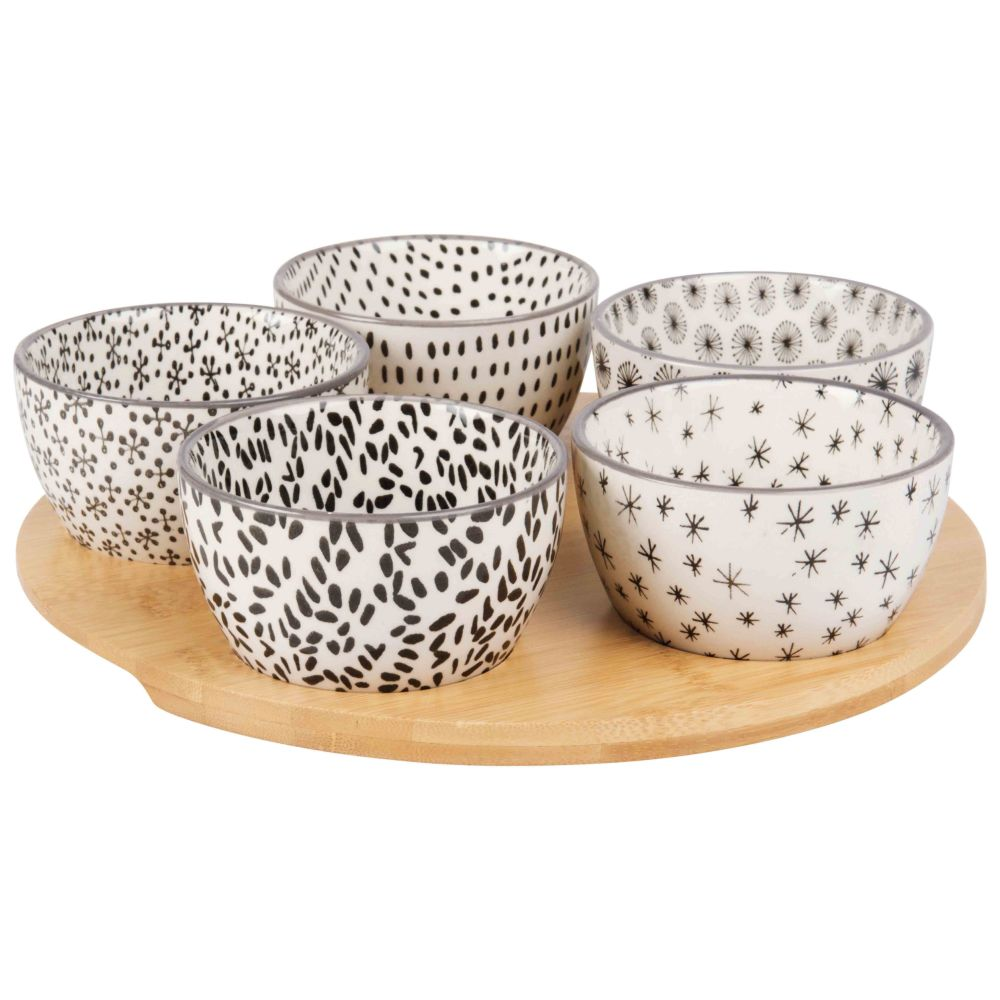 Bamboo-Snack-Tray-with-5-Earthernware-Bowls_22446190807