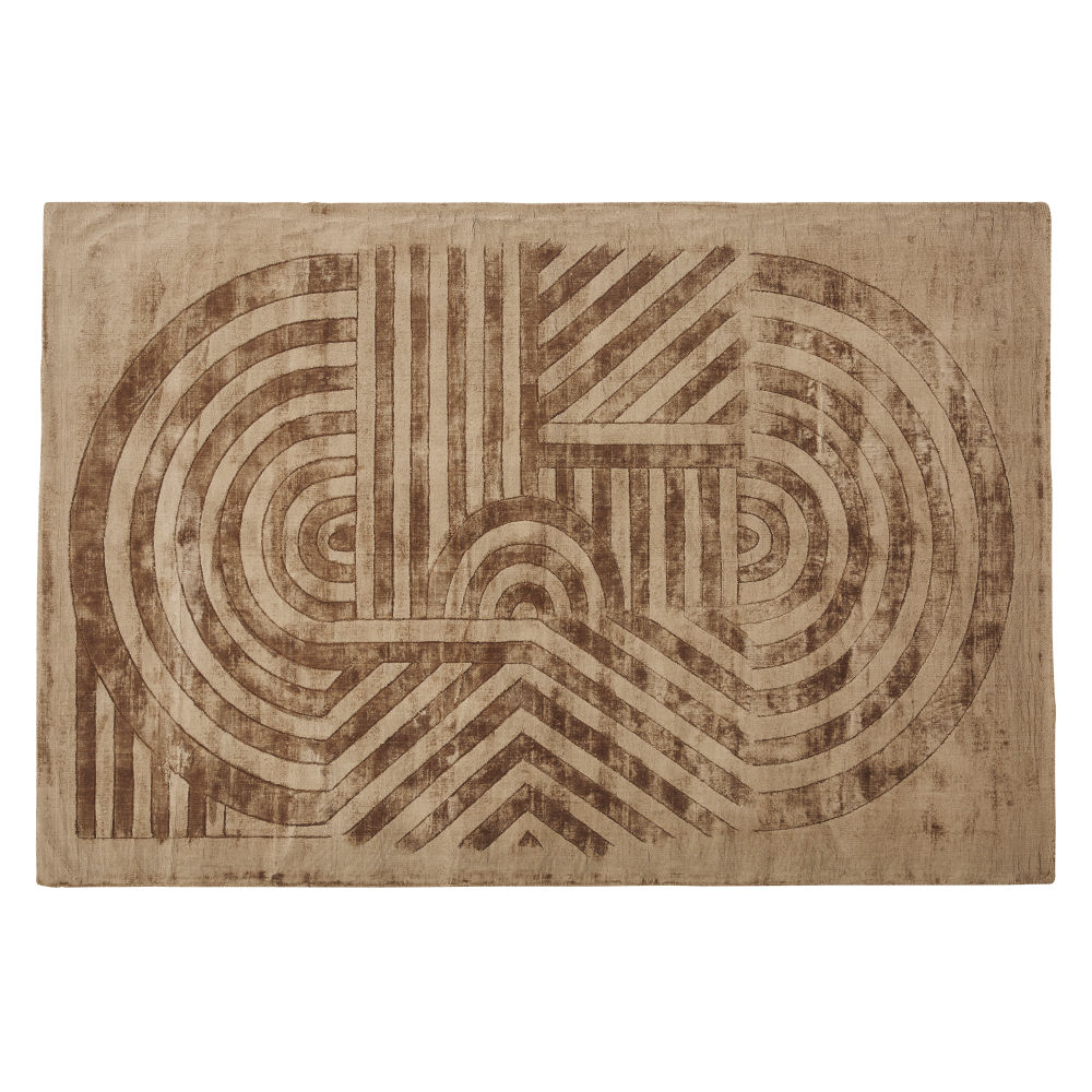 Beige-and-brown-rug-with-hand-etched-graphic-print-160x230cm_28224540653