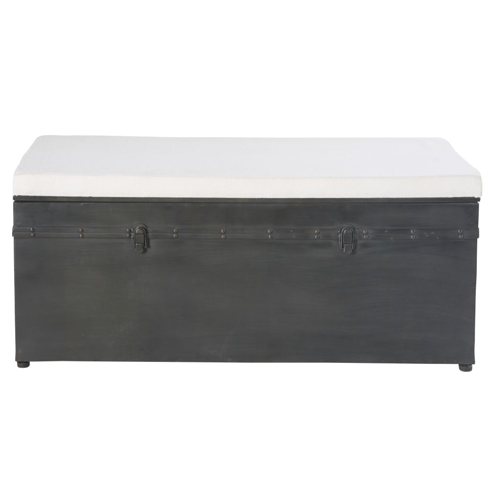 Ecru-Cotton-and-Black-Metal-3-Seater-Chest-with-Storage_23136324063