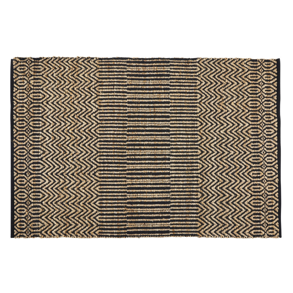 Ecru-and-Grey-Cotton-and-Jute-Rug-with-Print-140x200_26948596557