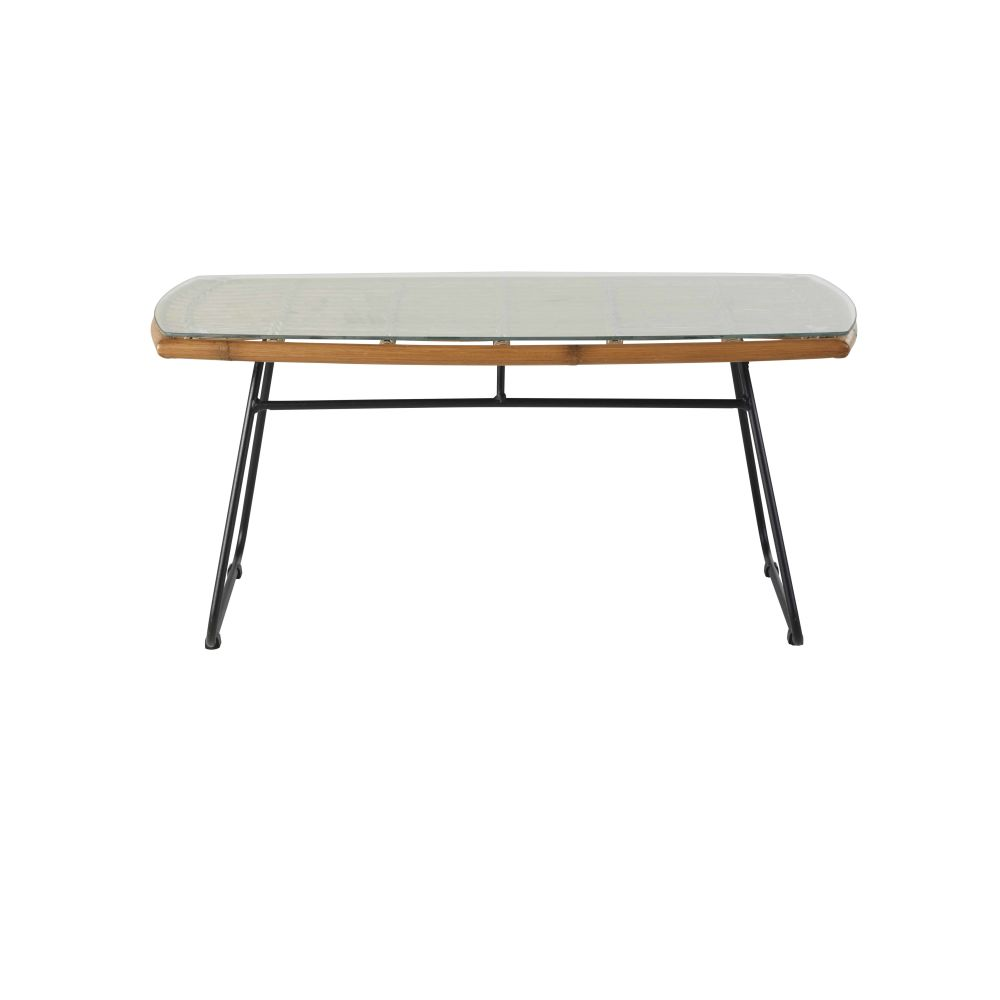 Garden-coffee-table-in-bamboo-style-resin-tempered-glass-and-black-metal_28224540075