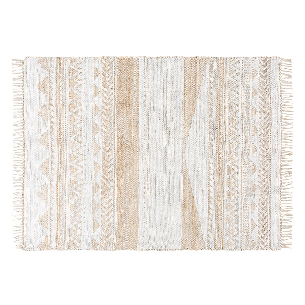 Jute-and-Cotton-Rug-with-Graphic-Motifs-140x200_22592066637