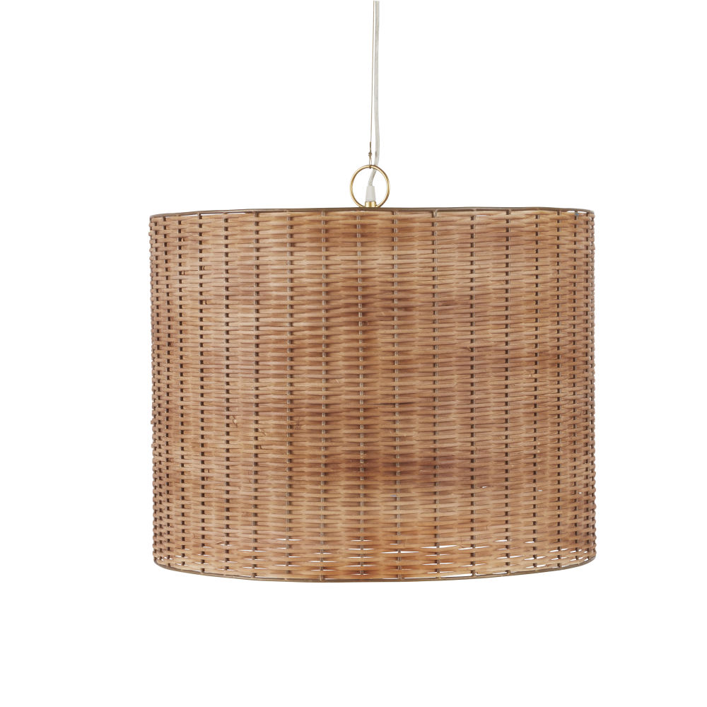 Pendant-light-in-woven-plant-fibre-and-gold-metal_28224540501