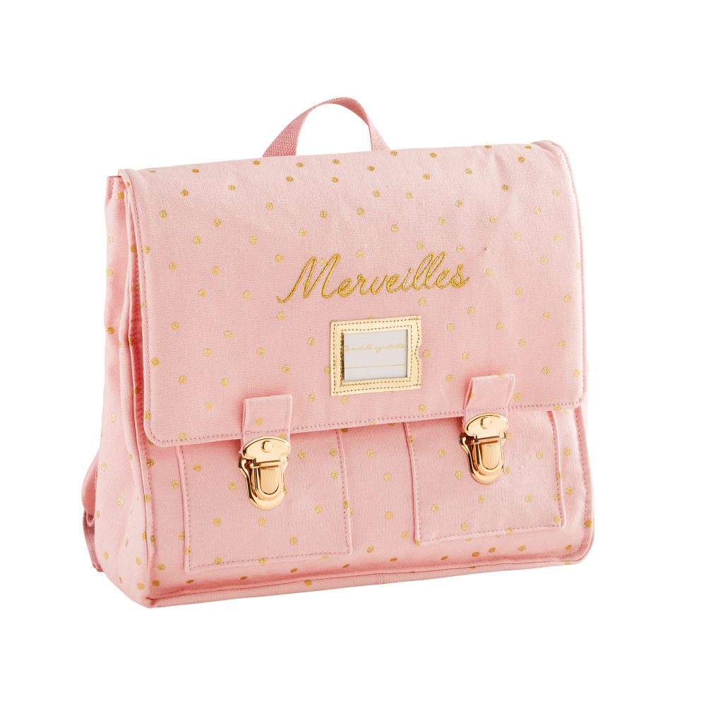 Pink-Cotton-Satchel-with-Gold-Polka-Dots_21905152789
