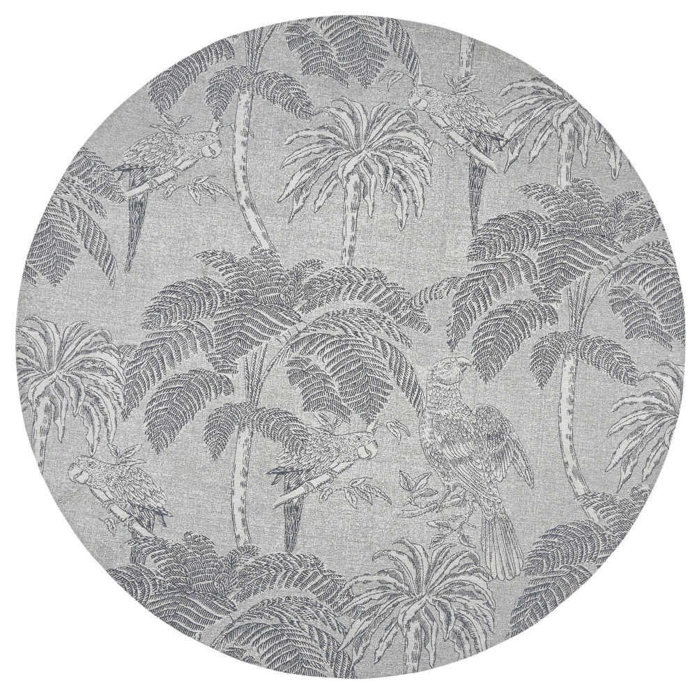 Round-Beige-Jacquard-Woven-Rug-with-Anthracite-Grey-Print-D200_25689358303