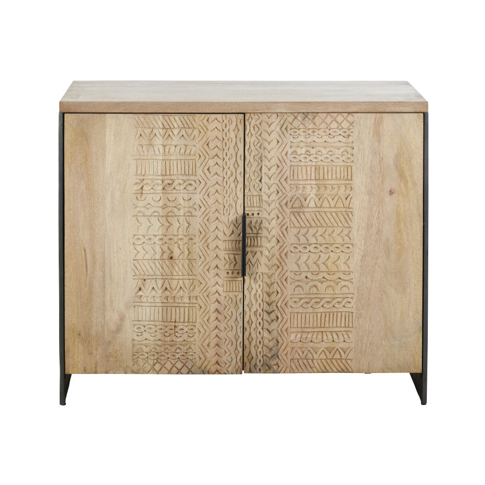 Sideboard-with-2-hand-carved-doors_28224540315