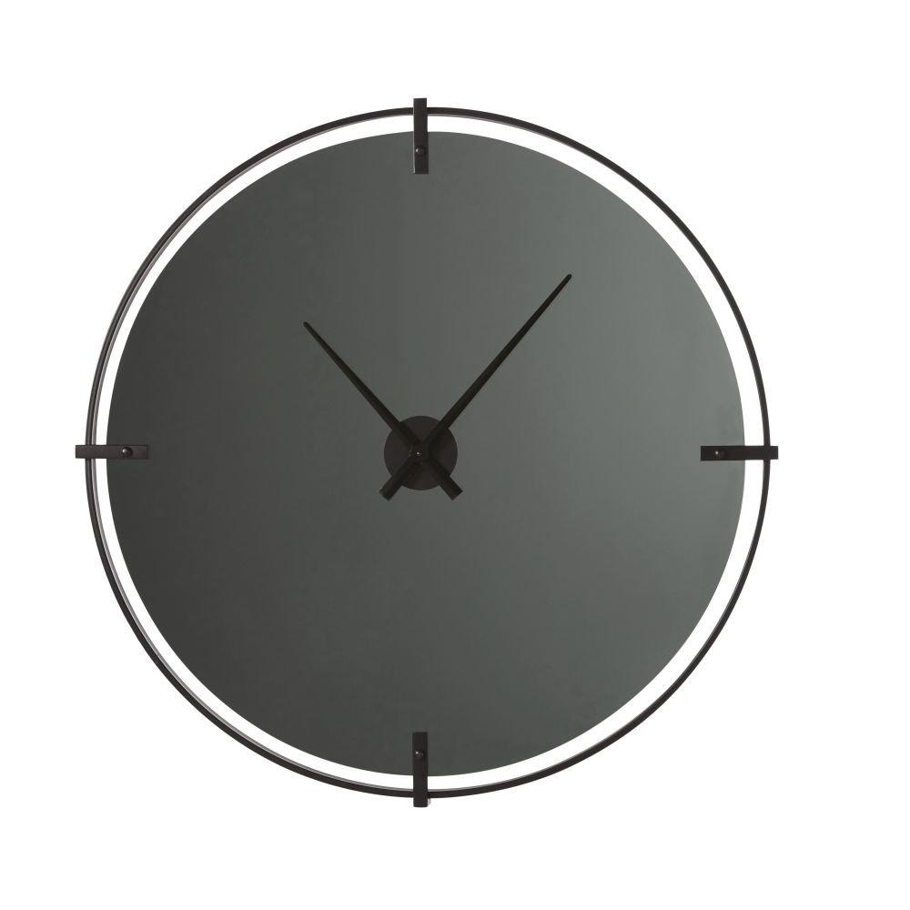 Smoked-glass-and-black-metal-clock-D95cm_27989966685