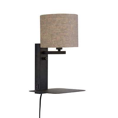 wall-light-with-plug-florence-dark-linen_madeindesign_344732_large